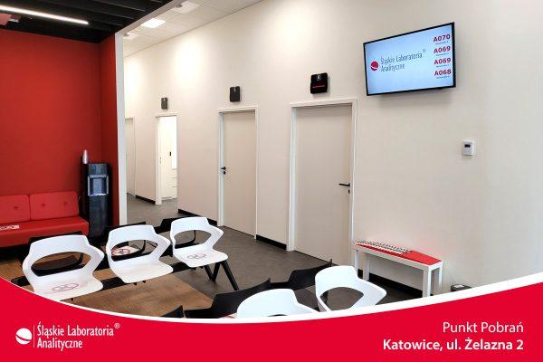 Punkt Pobrań ŚLA -Katowice - Żelazna 2